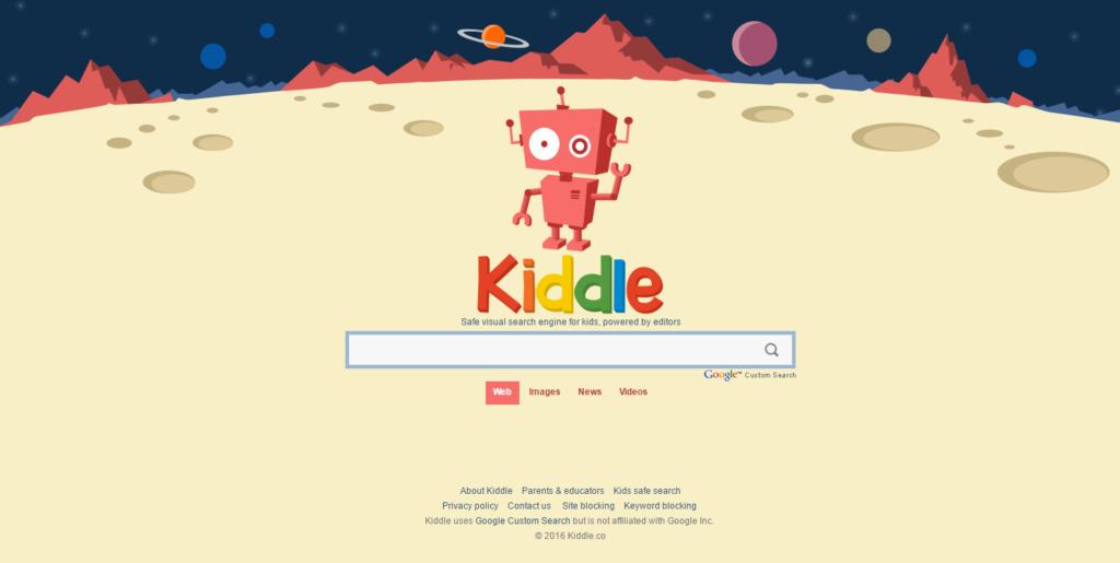 Kiddle impede navegação por páginas com conteúdos para adulto. Espécie de Google para crianças não permite busca por palavrões e nudez.
